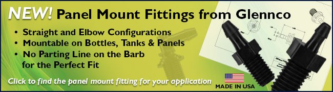 NEW! Panel Mount Fittings from Glennco