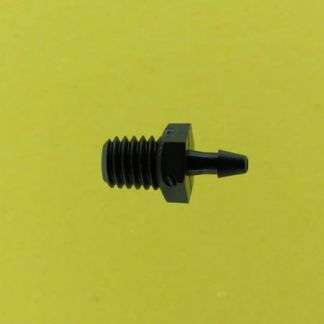 "011102 (Adapters - Thread: 10-32 Taper  Barb: 1/16""  Material: Black Nylon)"