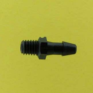 "011302 (Adapters - Thread: 10-32 Taper  Barb: 1/8""  Material: Black Nylon)"