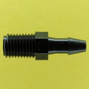 "013422 (Adapters - Thread: 1/16""-27 NPT Barb: 5/32"" Material: Black Nylon)"
