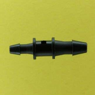 "031302 (Reduction Barb Couplers - Barb1: 1/8""  Barb2: 3/32""  Material: Black Nylon)"