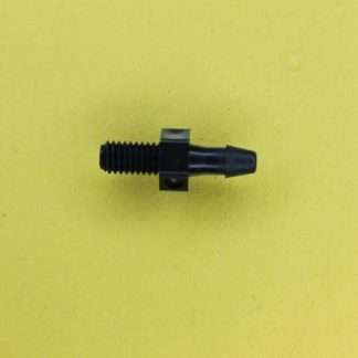"130302 (Panel Mounts - Thread: 10-32 UNF Barb: 1/8"" Material: Black Nylon)"