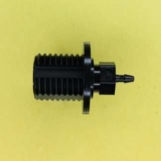 "134102 (Panel Mounts - Thread: 1/4NPS Barb: 1/16"" Material: Black Nylon)"