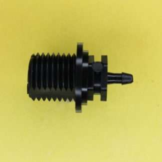"134202 (Panel Mounts - Thread: 1/4 NPS Barb: 3/32"" Material: Black Nylon)"