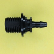 "134402 (Panel Mounts - Thread: 1/4 NPS Barb: 5/32"" Material: Black Nylon)"